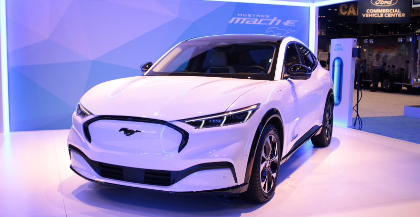 View the all-new Ford Mach-E at the 2020 Chicago Auto Show