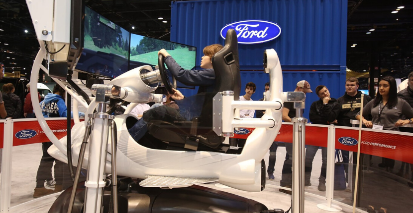 Ford Interactive Displays at the Chicago Auto Show