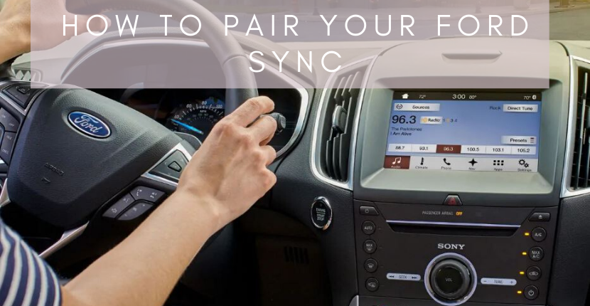 How to Pair Your Smartphone with Ford SYNC