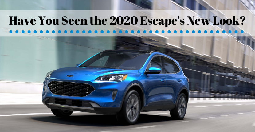 Have You Seen the 2020 Escape's New Look?