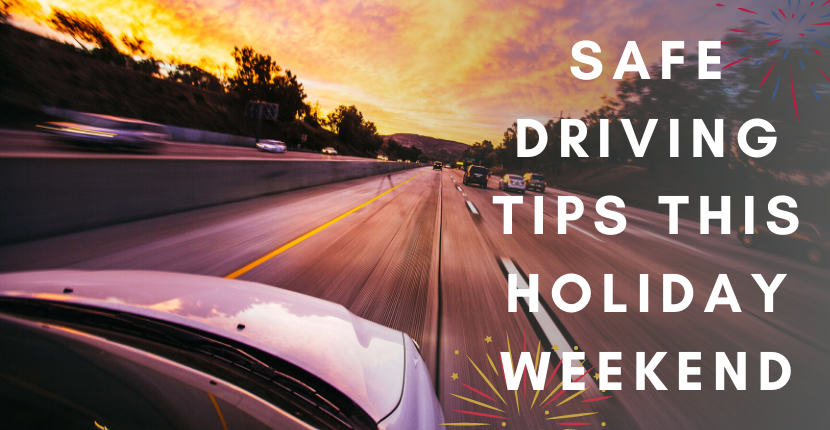 Safe Driving Tips This Holiday Weekend