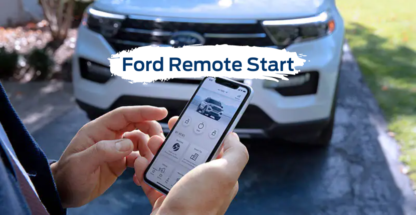 Remote Start Ford