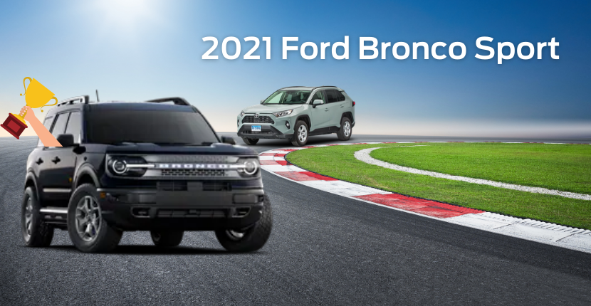 The Ford Bronco Sport Beats the Toyota RAV4