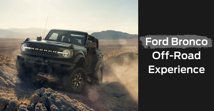 Ford Bronco Off Road Experience at Chicago Auto Show